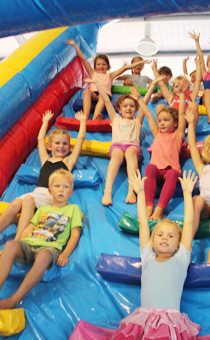 gymnastics parties northern beaches