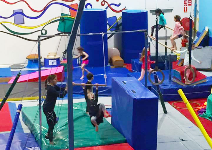 school holidays gymnastics program northern beaches