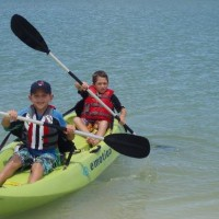 kayaking kids